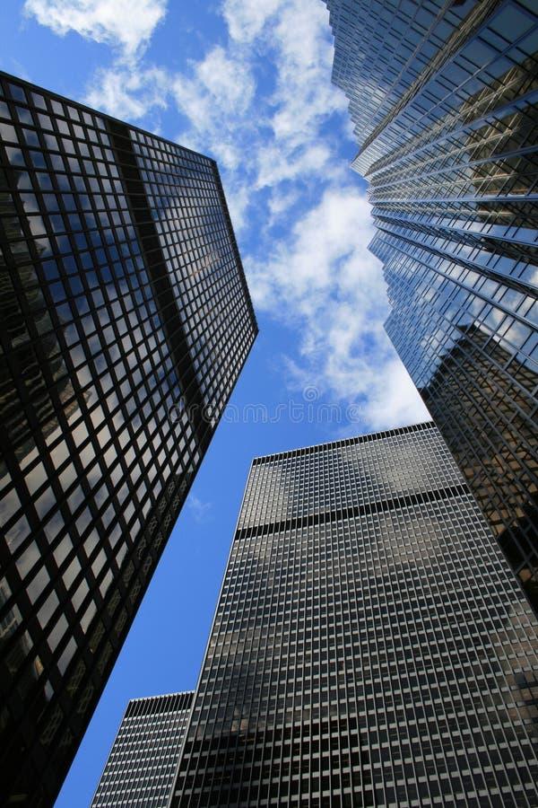 Wolkenkratzer in Toronto, Kanada lizenzfreie stockbilder