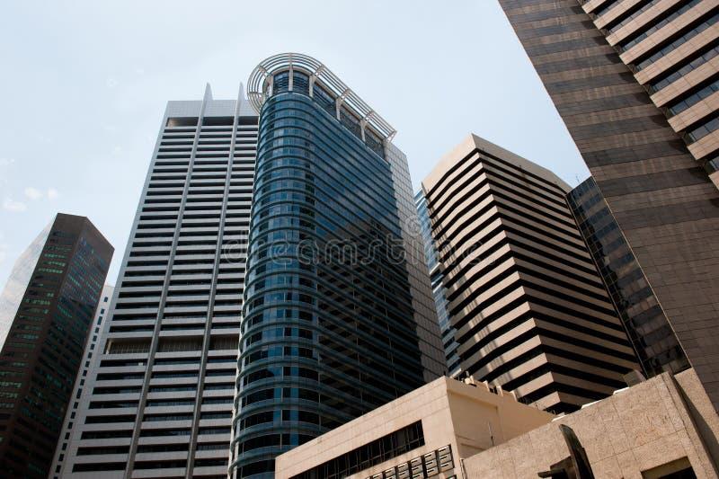 Wolkenkratzer, typisches städtisches Stadtbild lizenzfreie stockfotografie