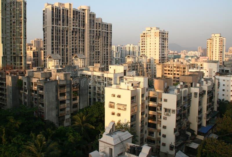 Wolkenkratzer- und Highrisearchitektur stockfoto