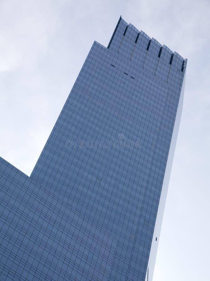 Wolkenkratzer von Manhattan stockbild