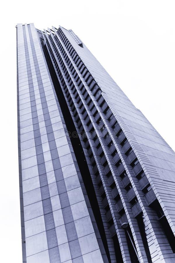 Wolkenkratzer von unterhalb lizenzfreie stockfotos