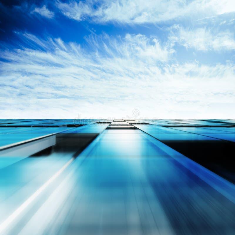 Wolkenkratzerabstrakter begriff lizenzfreie abbildung