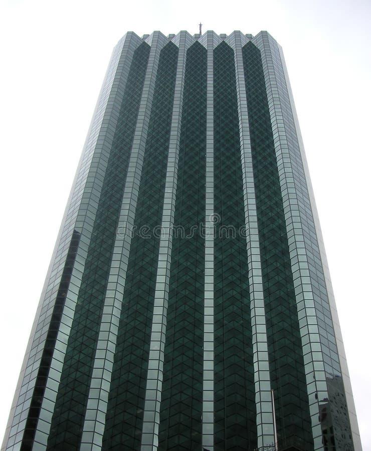 Wolkenkratzerbürokontrollturm in Perth, Australien lizenzfreie stockfotos