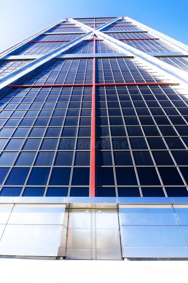 Wolkenkratzereingang lizenzfreies stockfoto