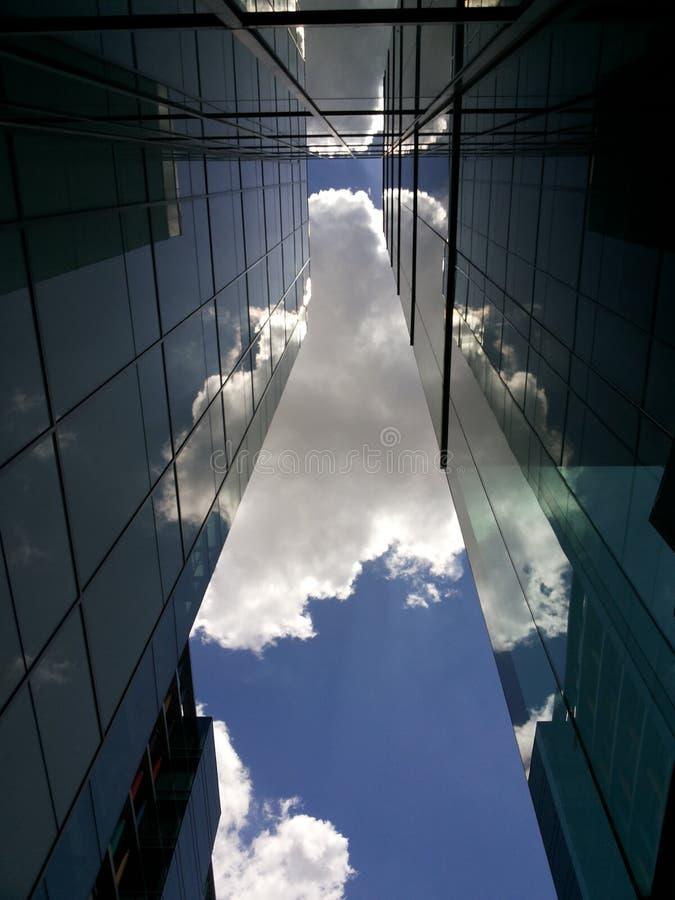 Wolkenschaduw stock fotografie