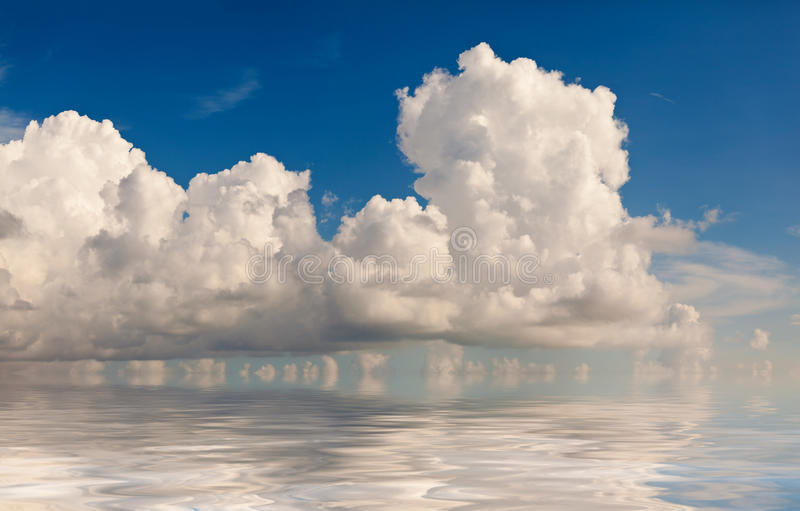 Wolkenvorming royalty-vrije stock fotografie