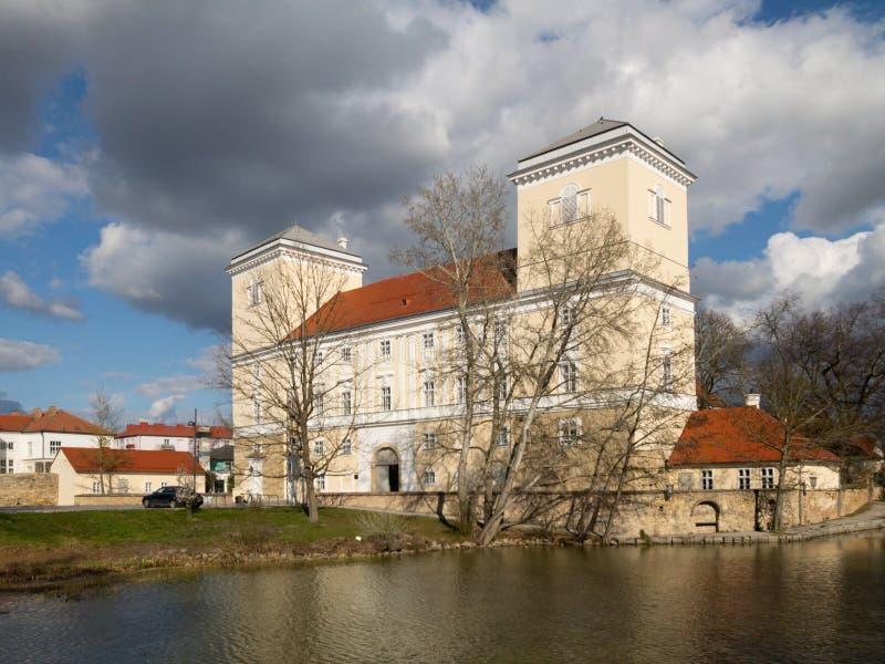 Wolkersdorf i lägre Österrike royaltyfria bilder