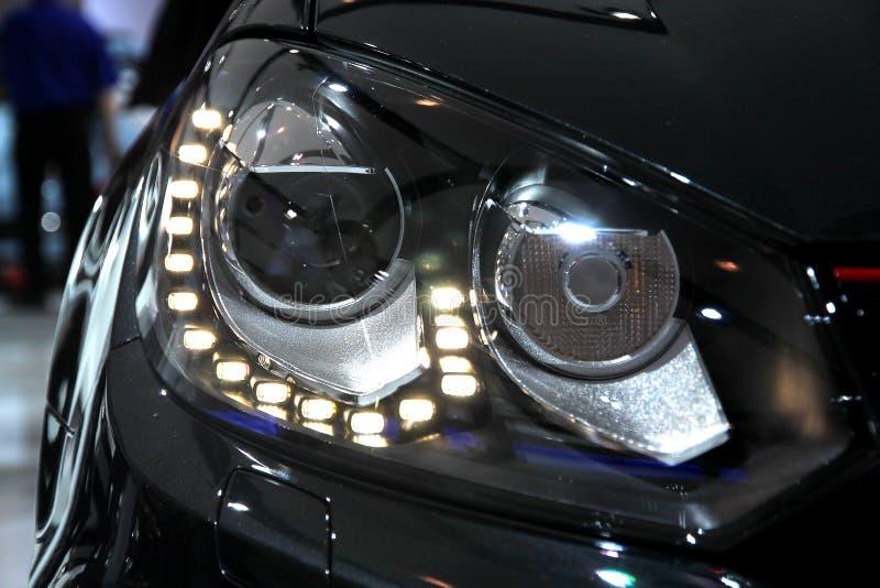 Wolkswagena GTI Headlamps zdjęcia royalty free