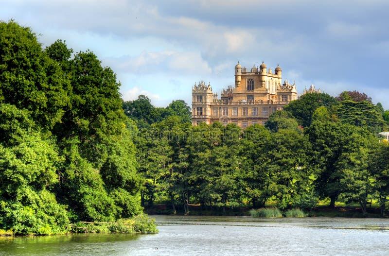 Wollaton霍尔和公园诺丁汉诺丁汉,英国,英国 免版税图库摄影