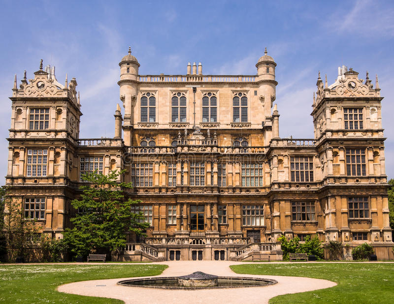 Wollaton Hall, Nottingham, Angleterre images libres de droits