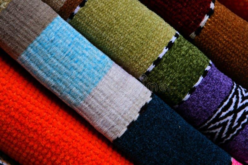 Wolldecken lizenzfreies stockbild