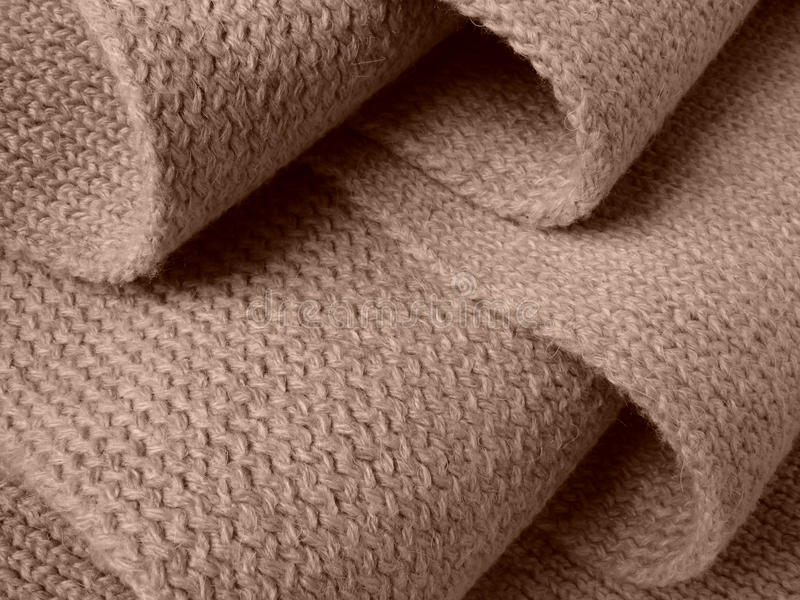 Wollen sjaal stock foto