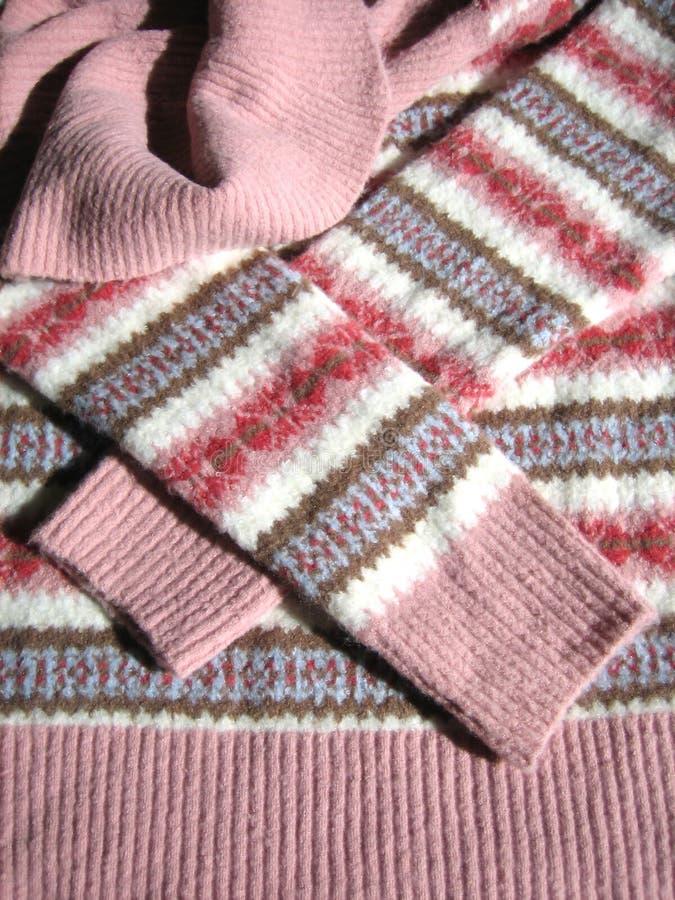 Wollen sweater royalty-vrije stock foto