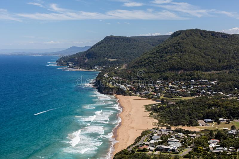 Wollongong,澳洲 海边,海洋 图库摄影
