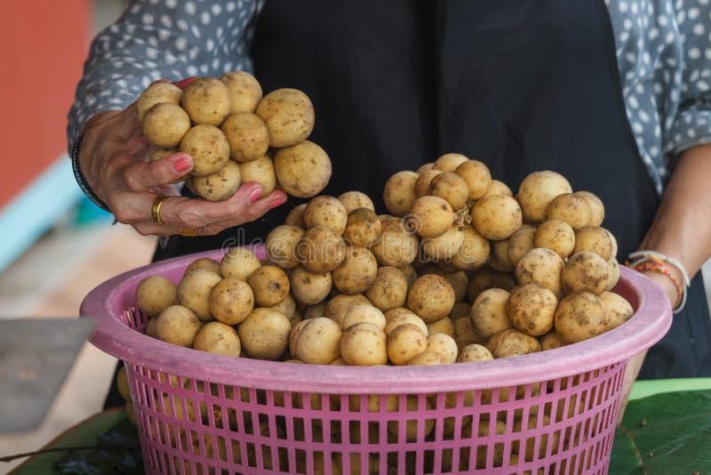 wollongong al mercato della Tailandia immagine stock