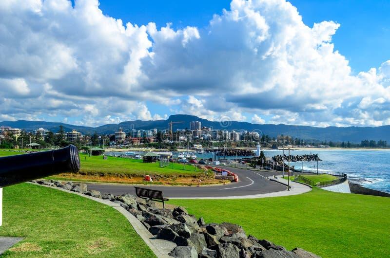 Wollongong Australien royaltyfri fotografi