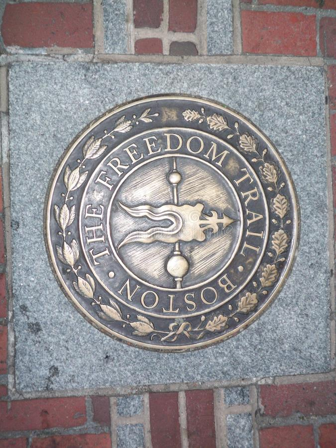 Wolność ślad Boston Massachusetts obrazy stock
