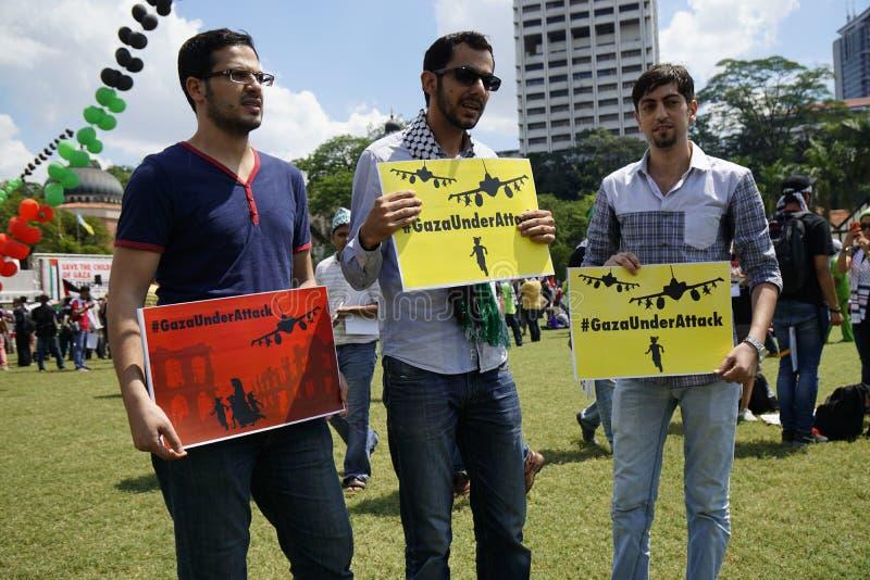 Wolność dla GAZA fotografia royalty free