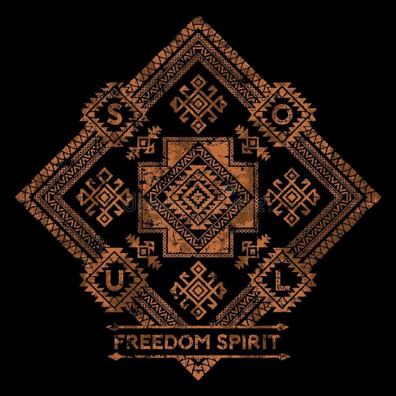 Wolność duch royalty ilustracja