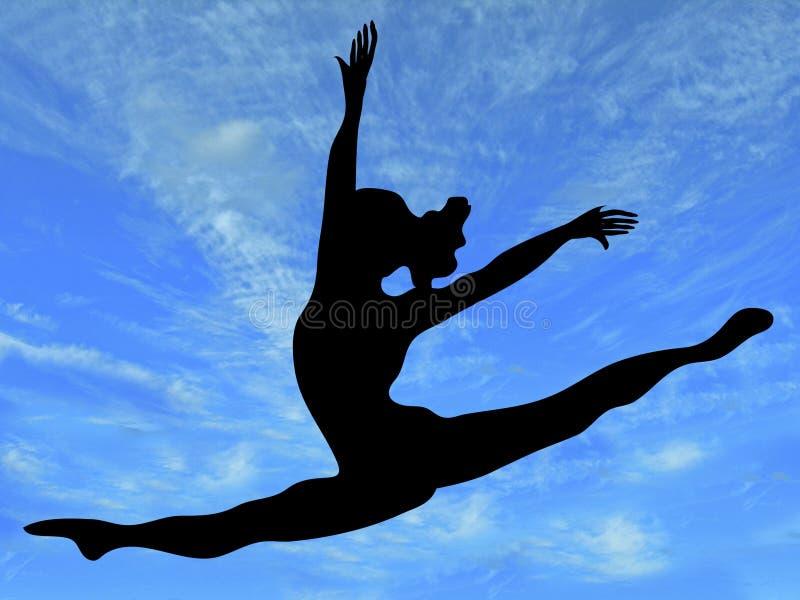 wolność fizycznej fitness royalty ilustracja