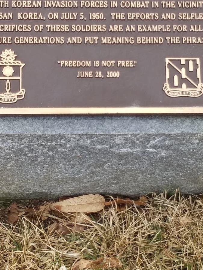 Wolno?? no jest bezp?atnej wyceny Arlington Krajowego cmentarza zdjęcia royalty free