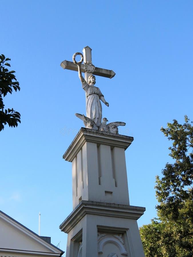 Wolności statua, Lithuania zdjęcie stock