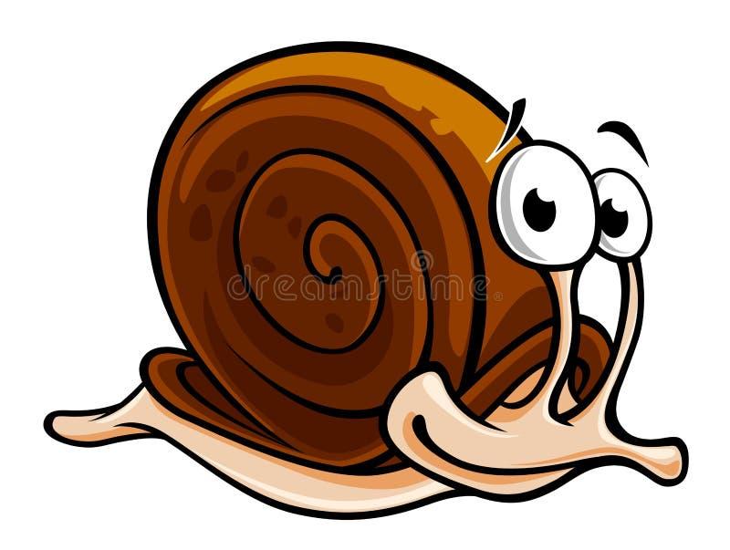 wolny ślimaczek ilustracja wektor