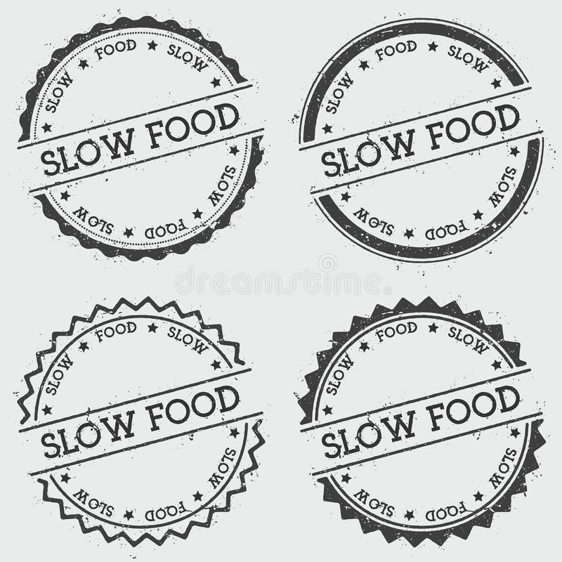 Wolny karmowy insygnia znaczek odizolowywający na bielu ilustracji