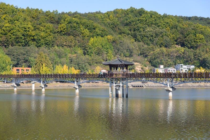 Wolryeong most obrazy stock