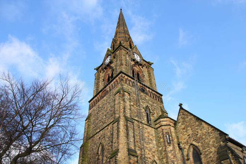 Wolverhampton. United Kingdom. Saint Mark's church - currently a Grade II listed building stock images