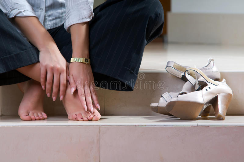 Download Woman stock photo. Image of pain, exhaustion, leather - 13091446