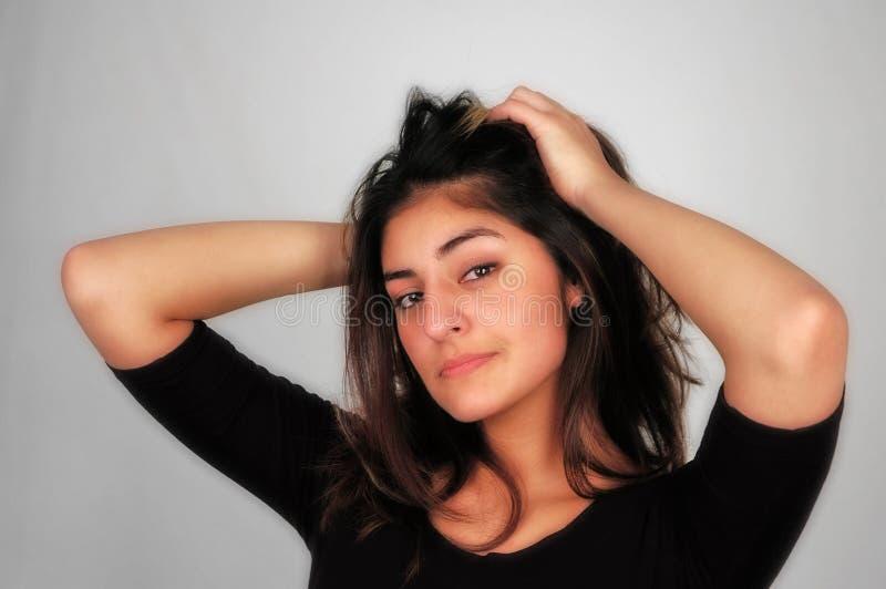 Woman-14 occasionnel photos libres de droits