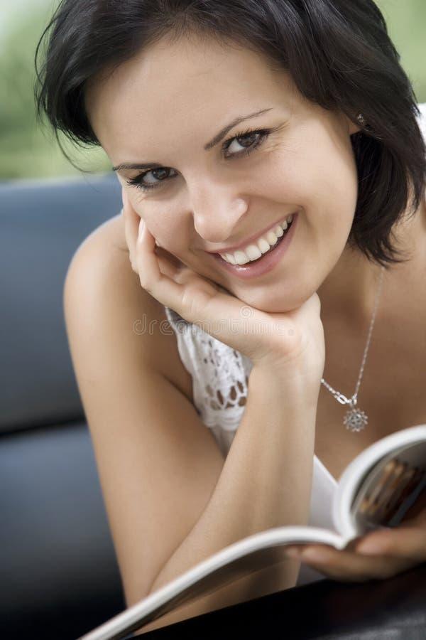 Download Woman stock image. Image of feminine, face, enjoyment - 14019861