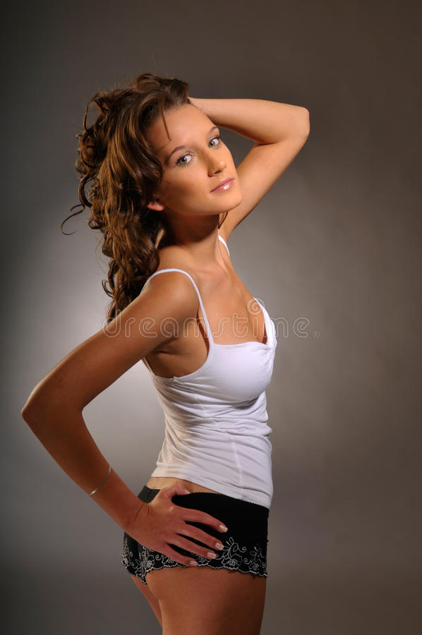 Download The Woman Royalty Free Stock Photography - Image: 15499987