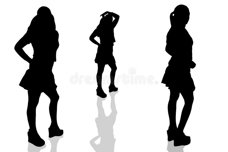 Woman-16 Illustrato Fotografie Stock