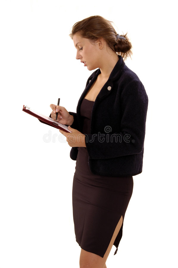 Download Woman stock photo. Image of beautiful, working, questioning - 182208
