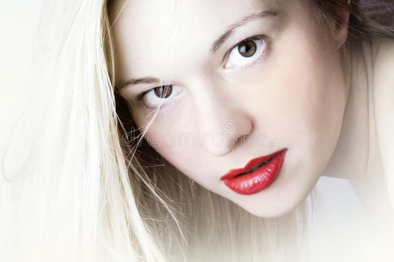 Woman (26 years old) royalty free stock photography