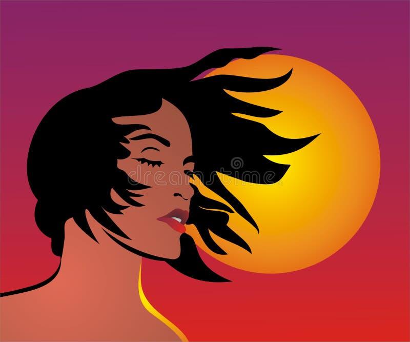 Woman stock illustration