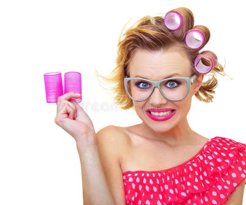 Download Woman stock photo. Image of isolated, bright, housewife - 28267022