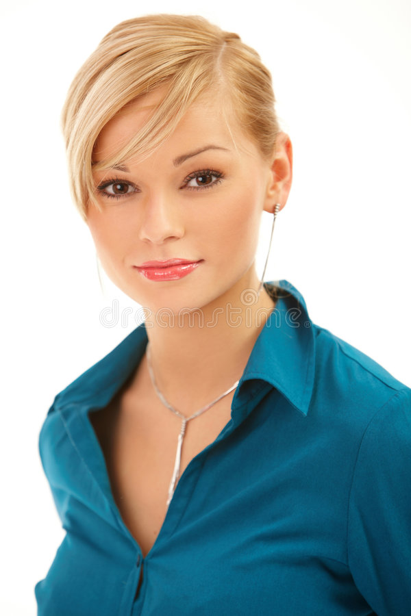 Download Woman stock image. Image of beauty, shirt, colleague, people - 4222911