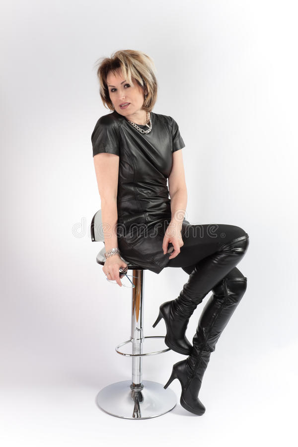 Woman aged stock photography