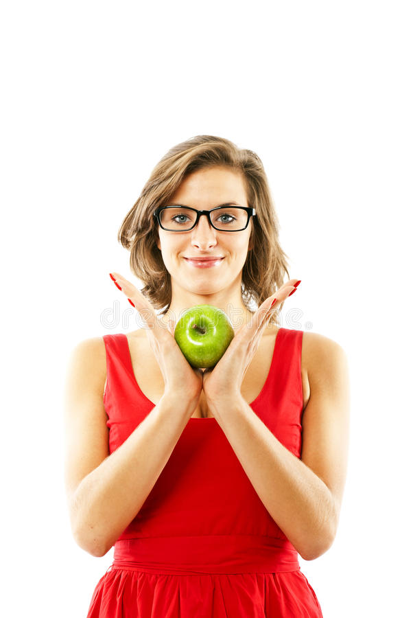 Download Woman with apples stock photo. Image of health, caucasian - 22471334