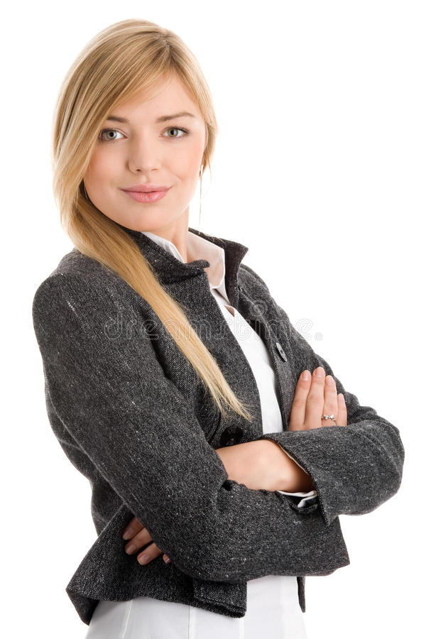 Download Woman with arms crossed stock image. Image of elegance - 11448777