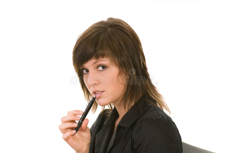 Download Woman as a secretary stock photo. Image of lawyer, sucessfull - 5371490