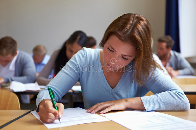 Download Woman in assessment center stock image. Image of dual - 21324415