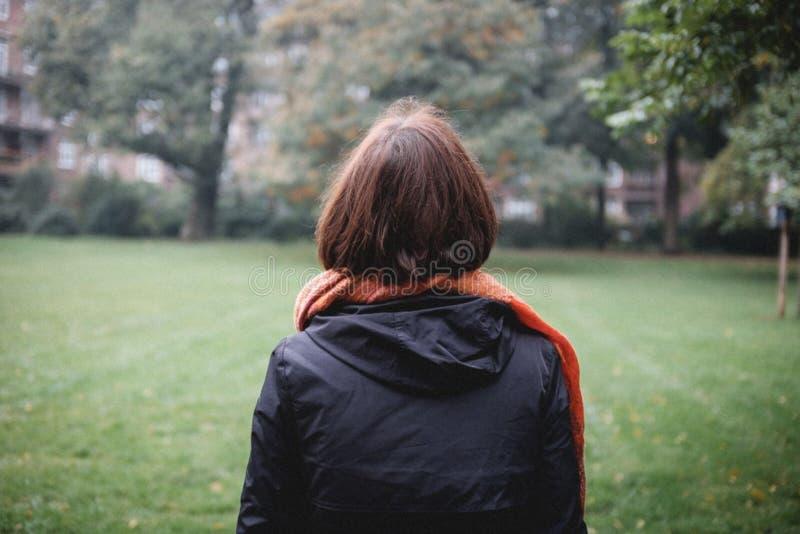 Woman In Autumn Park Free Public Domain Cc0 Image