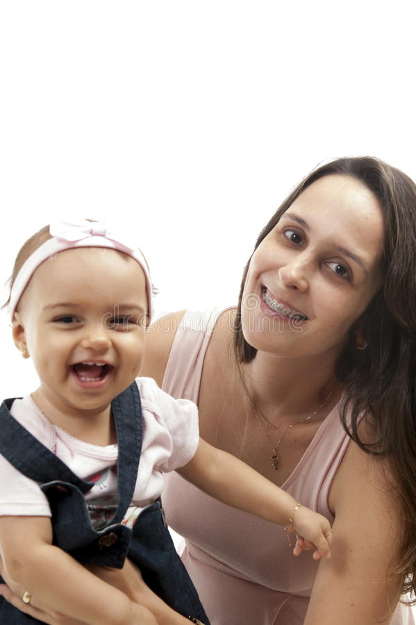 Woman and Baby royalty free stock images