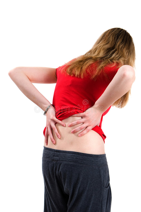 Download Woman With Back Pain stock image. Image of attack, heal - 8984171