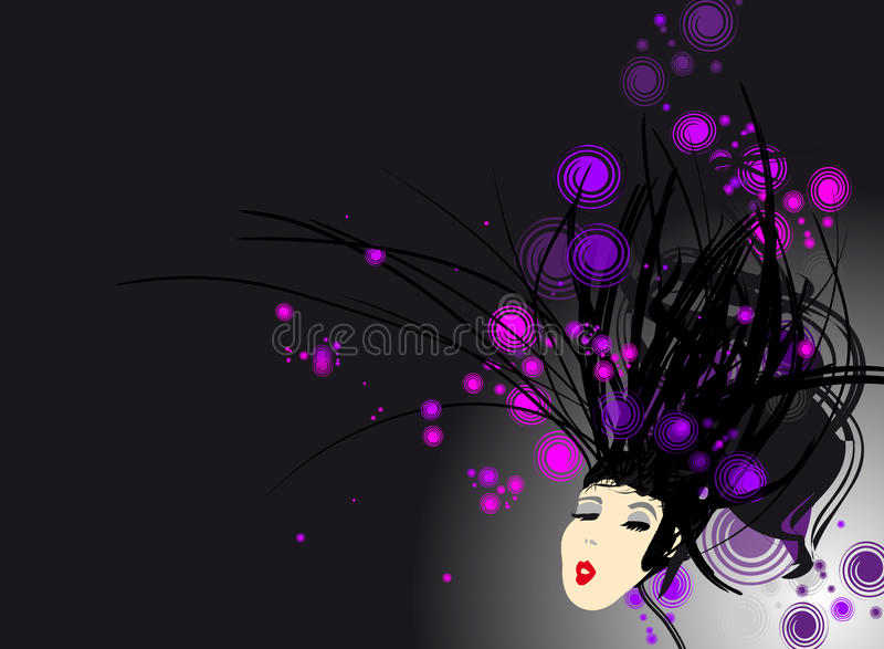 Woman background