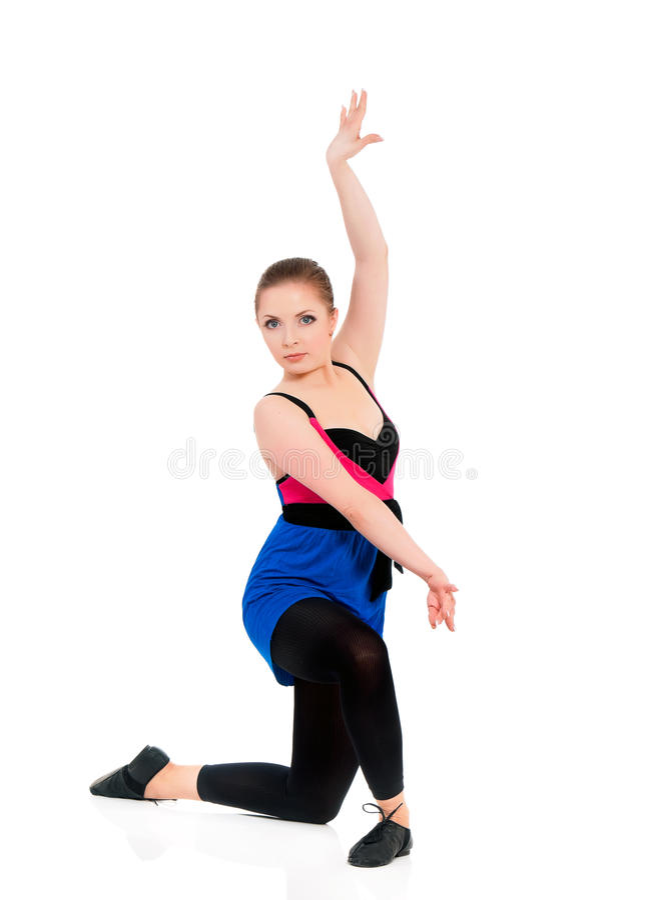 Woman ballerina ballet dancer royalty free stock photography